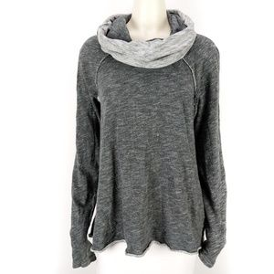 FP Beach Free People Cocoon Cowl Neck Pullover Top